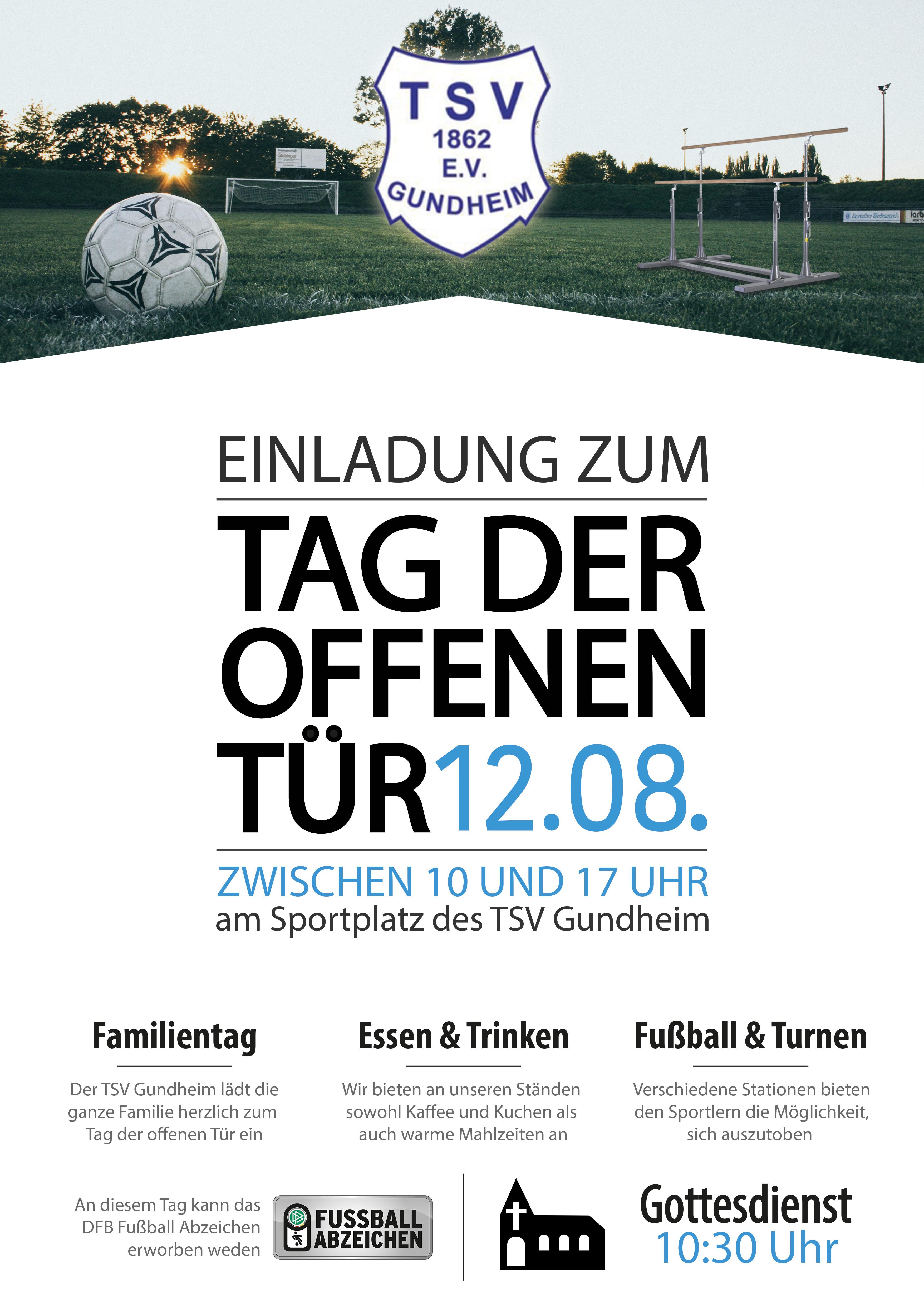Tag der offenen Tür des TSV Gundheim Thumbnail