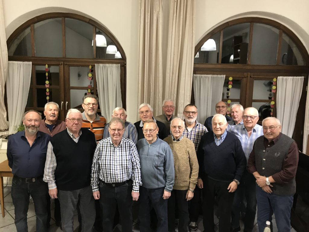Die ehrenamtliche Männergruppe von Gundheim